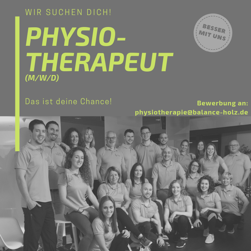 Physiotherapeut (m/w/d) gesucht!